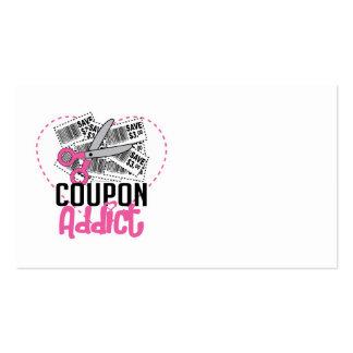 Coupon Addict Business Card Templates