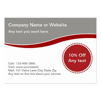 Coupon Business Carsd Business Card Templates
