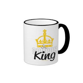 Coupon King Ringer Mug