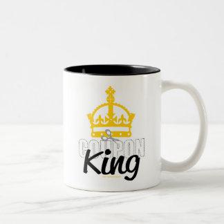 Coupon King Two-Tone Mug