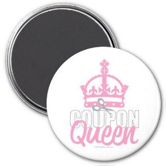 Coupon Queen 7.5 Cm Round Magnet