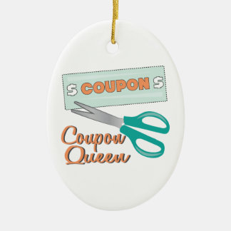 Coupon Queen Christmas Ornament