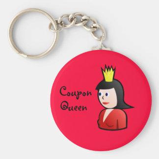 Coupon Queen Keychain
