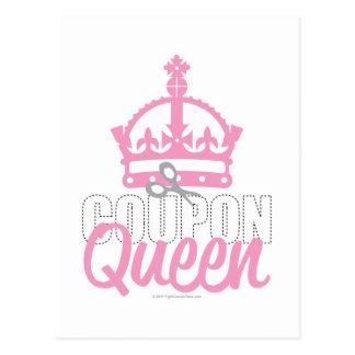 Coupon Queen Postcard