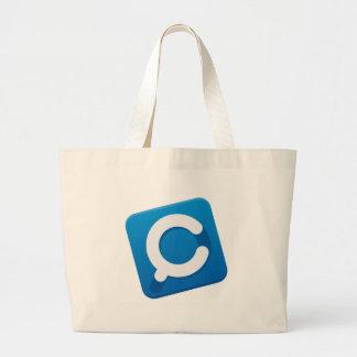 CouponMapia App Logo Jumbo Tote Bag