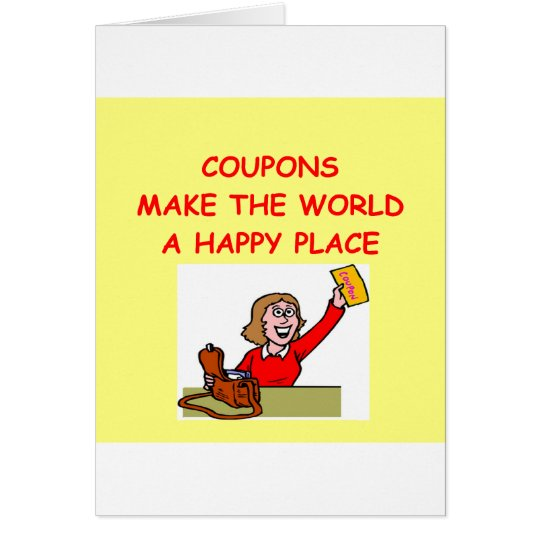 COUPONS CARD