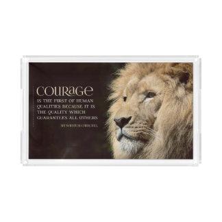 Courage Acrylic Tray