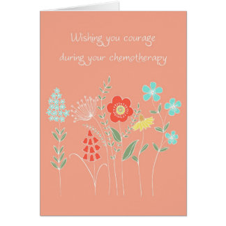courage during chemotherapy card