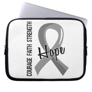 Courage Faith Hope 5 Asthma Laptop Computer Sleeve