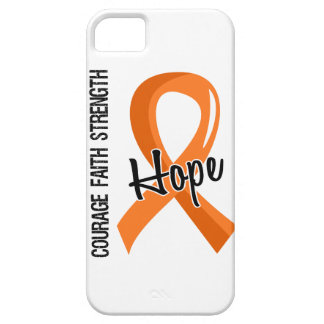 Courage Faith Hope 5 Leukemia iPhone 5 Cases
