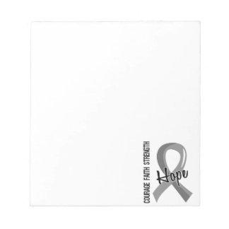 Courage Faith Hope 5 Parkinson's Disease Notepad