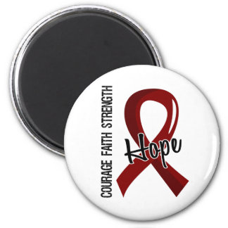 Courage Faith Hope 5 Sickle Cell Disease Refrigerator Magnet