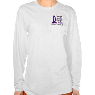 Courage Faith Strength Hope Alzheimer's Disease T Shirt