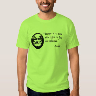 courage, fear, confidence Aristotle philosophy top Tees