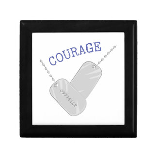 Courage Small Square Gift Box