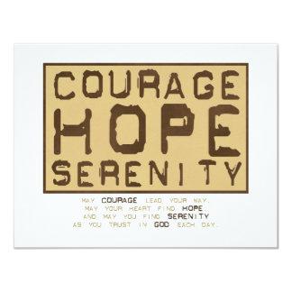 Courage Hope Serenity (1) Custom Invites