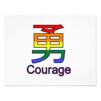 Courage Custom Announcements