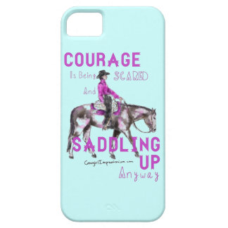 Courage iPhone 5 Cover