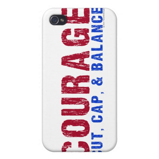 Courage iPhone 4 Cases