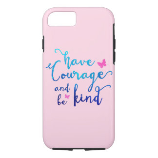 Courage & Kindness Light Pink iPhone 7 Case
