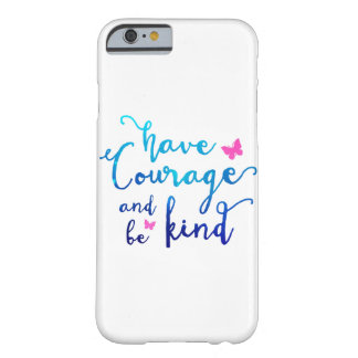 Courage & Kindness White Barely There iPhone 6 Case