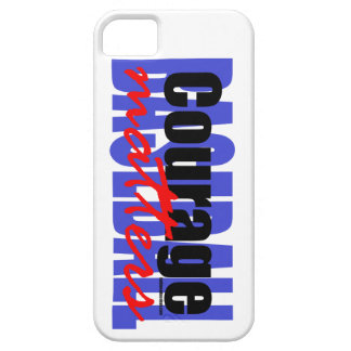 Courage Matters iPhone 5 Cases