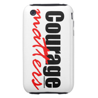 Courage Matters iPhone 3 Tough Case