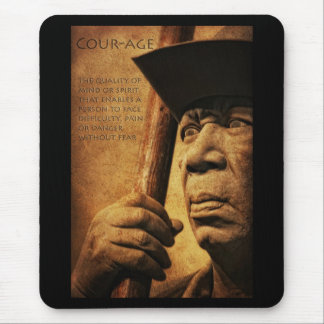 Courage Mouse Pad