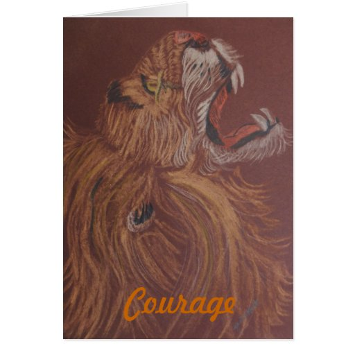 Courage of a Loin Cards