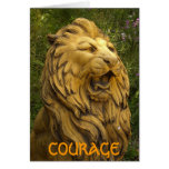 COURAGE STATIONERY NOTE CARD