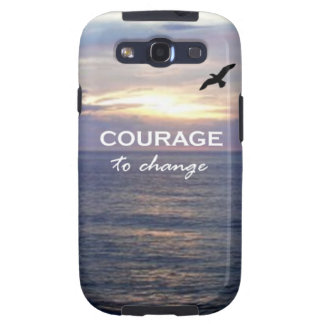 Courage To Change Samsung Galaxy S3 Cases