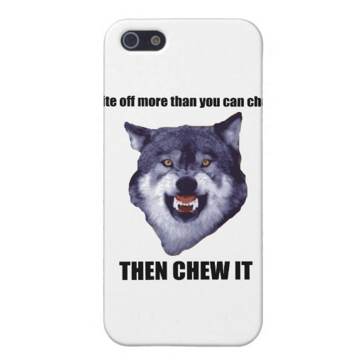 Courage Wolf Covers For iPhone 5