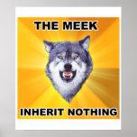 Courage Wolf Meek Inheritance Poster