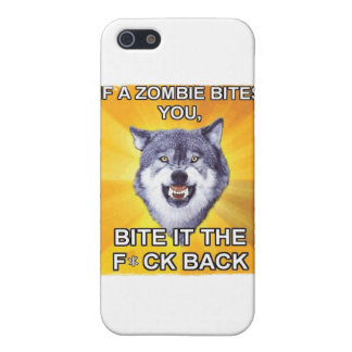 Courage Wolf Vs Zombies iPhone 5/5S Covers