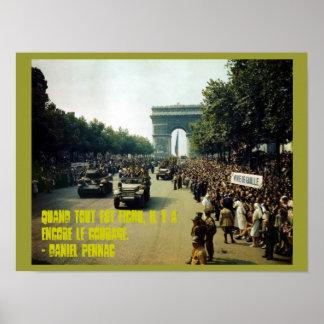 Courage World War 2 Poster