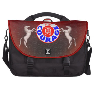 Courage - Yuu Horse Laptop Bags