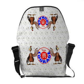 Courage - Yuu Rooster Messenger Bags