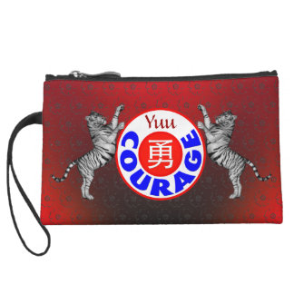 Courage - Yuu Tiger Wristlet Clutches