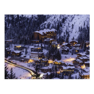 Courchevel, France Postcard