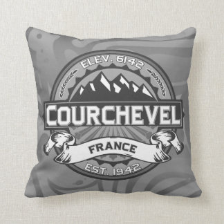 Courchevel Logo Cushion