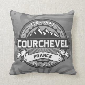 Courchevel Logo Cushion
