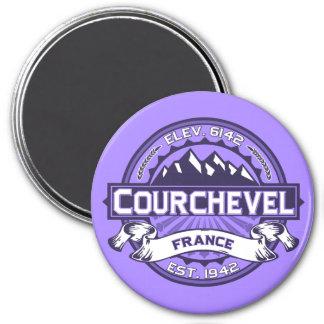 Courchevel Logo Magnet