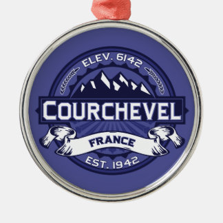 Courchevel Logo Midnight Christmas Ornament