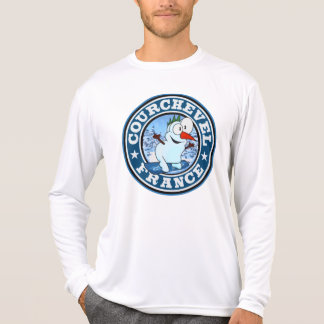 Courchevel Snowman Circle T-Shirt