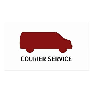 Courier Service Business Cards