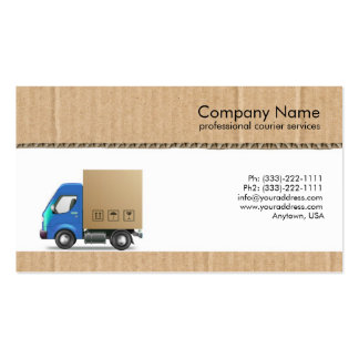 Courier Services Business Card