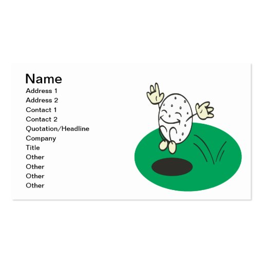 Course Cooperation Business Card Templates