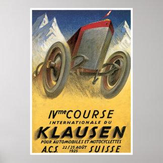 Course Klausen Poster