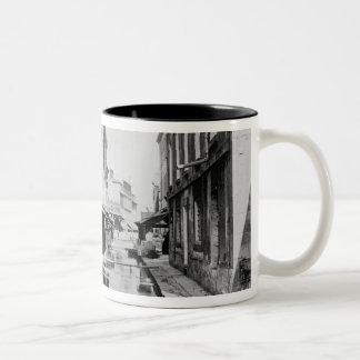 Course of the Bievre in Paris Two-Tone Coffee Mug