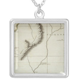 Course of the River Mississipi Silver Plated Necklace
